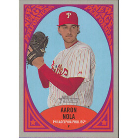 2019 Topps Heritage - Aaron Nola New Age Performers #NAP-20