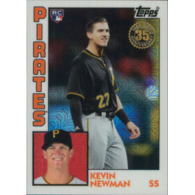 2019 Topps - Kevin Newman Silver Pack 1984 Topps #T84-32