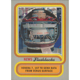 2019 Topps Heritage - Venera 7 Lands on Venus News Flashbacks #NF-12