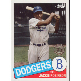 2020 Topps - Jackie Robinson 1985 Topps 35th Anniversary #85-22