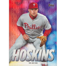 2020 Topps - Rhys Hoskins Two and Done Highlights #RH-26