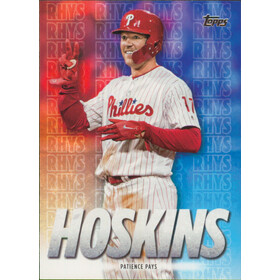 2020 Topps - Rhys Hoskins Patience Pays Highlights #RH-19