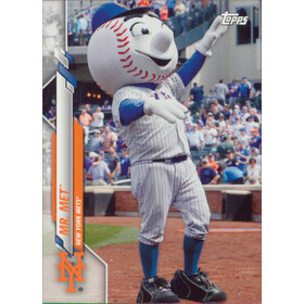 2020 Topps Opening Day - Mr. Met Mascots #M-3