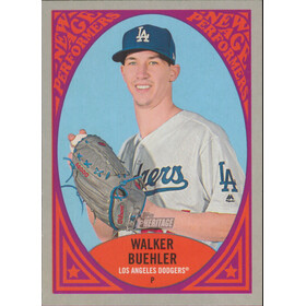 2019 Topps Heritage - Walker Buehler New Age Performers #NAP-25