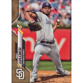 2020 Topps - Joey Lucchesi Gold #257 1364/2020