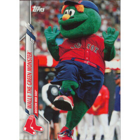 2020 Topps Opening Day - Wally the Green Monster Mascots #M-2