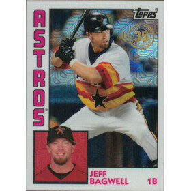 2019 Topps Update - Jeff Bagwell Silver Pack 1984 Topps Chrome #T84U-17
