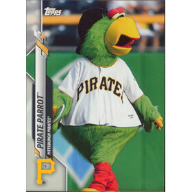 2020 Topps Opening Day - Pirate Parrot Mascots #M-13