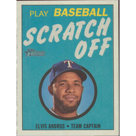 2019 Topps Heritage - Elvis Andrus 1970 Scratch Off #21