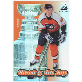 1997-98 ZENITH - JOHN LeCLAIR #8 CHASING THE CUP