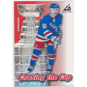 1997-98 ZENITH - PAT LaFONTAINE #14 CHASING THE CUP