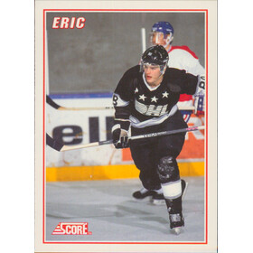 1990-91 SCORE - ERIC LINDROS #3 LINDROS INSERT