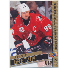 2012 National Sports Collectors Convention - Wayne Gretzky #VIP-2