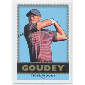 2018 Goodwin Champions - Tiger Woods Goudey #G10