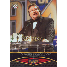2015 WWE Road to Wrestlemania - Ted DiBiase Hall of Fame #26