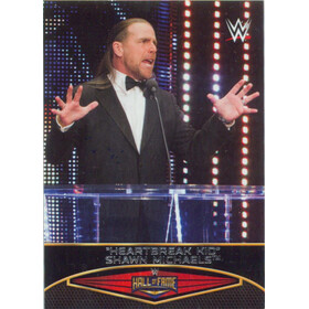 2015 WWE Road to Wrestlemania - Shawn Michaels Hall of Fame #27