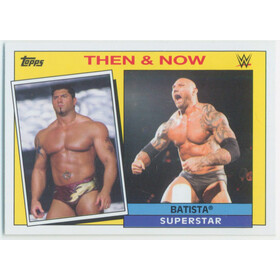 2015 WWE Heritage - Bastista Then & Now #1
