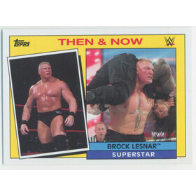 2015 WWE Heritage - Brock Lesnar Then & Now #4
