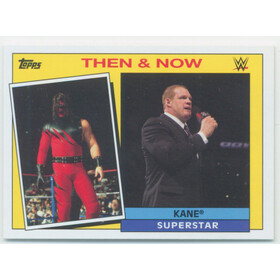 2015 WWE Heritage - Kane Then & Now #18