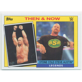 2015 WWE Heritage - Stone Cold Steve Austin Then & Now #25