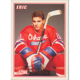 1990-91 SCORE - ERIC LINDROS #2 LINDROS INSERT