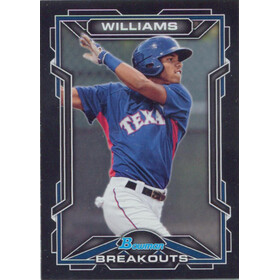 2013 Bowman Draft Picks & Prospects - Nick Williams Scout Breakouts #BSB-NW