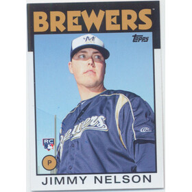 2014 Topps Archives - Jimmy Nelson RC #135
