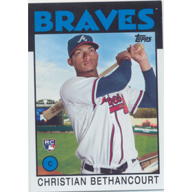 2014 Topps Archives - Christian Bethancourt RC #127