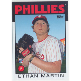 2014 Topps Archives - Ethan Martin RC #112