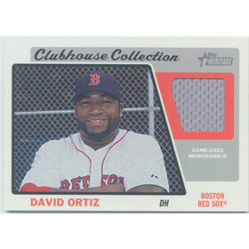 2015 Topps Heritage - David Ortiz Clubhouse Collection #CCR-DO