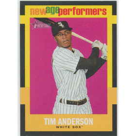 2020 Topps Heritage - Tim Anderson New Age Performers #NAP-16