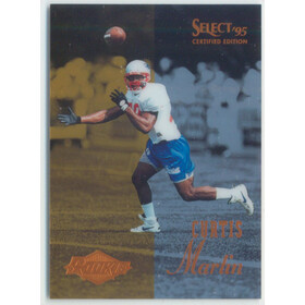 1995 Select Certified - Curtis Martin RC #117