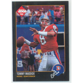 1992 Collector's Edge - Tommy Maddox RC #186