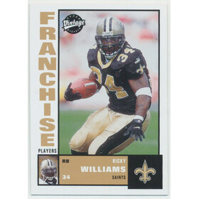 2001 Vintage - Ricky Williams Franchise Players #FP2