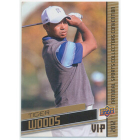 2012 National Sports Collectors Convention - Tiger Woods #VIP-5