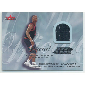 2000-01 Fleer Tradition - George Lynch Feel the Game #NNO