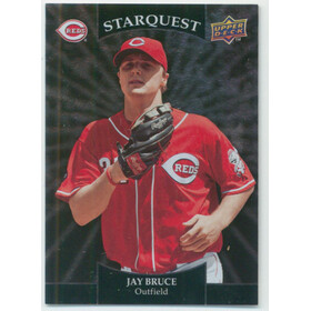 2009 Upper Deck - Jay Bruce Starquest Common Silver #SQ-43