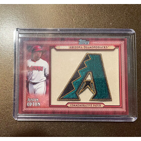 2011 TOPPS COMMEMERATIVE PATCH - JUSTIN UPTON