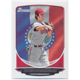 2013 Bowman - Kevin Medrano Prospects State & Hometown #BP108