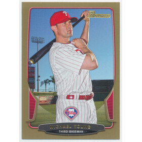 2013 Bowman - Michael Young Gold #31