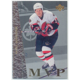 1996-97 COLLECTOR'S CHOICE - DANIEL ALFREDSSON #UD39 MVP