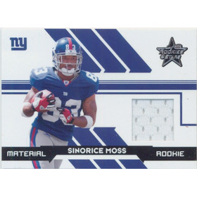 2006 Leaf Rookies and Stars - Sinorice Moss #261 Rookie 785/799