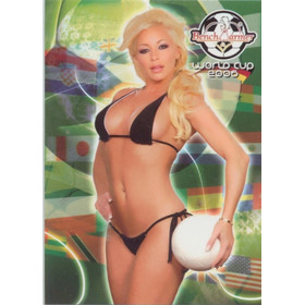 2006 Benchwarmer World Cup - Zoe Gregory #42
