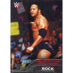2016 Topps WWE - The Rock Tribute #4