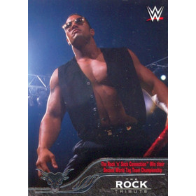 2016 Topps WWE - The Rock Tribute #10