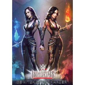 2016 WWE Road to WrestleMania - The Bellas/Ice Witch and Pyromancer Immortals #4