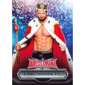 2016 WWE Road to WrestleMania - King Barrett Roster #14
