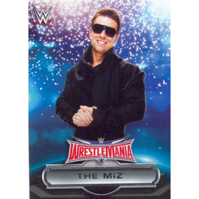 2016 WWE Road to WrestleMania - The Miz Roster #17