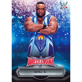 2016 WWE Road to WrestleMania - Big E Roster #23