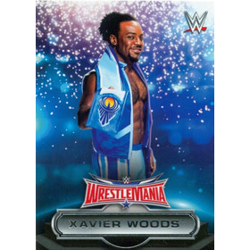 2016 WWE Road to WrestleMania - Xavier Woods Roster #24